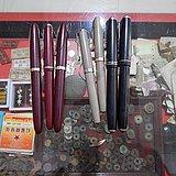 老钢笔一组7只特价