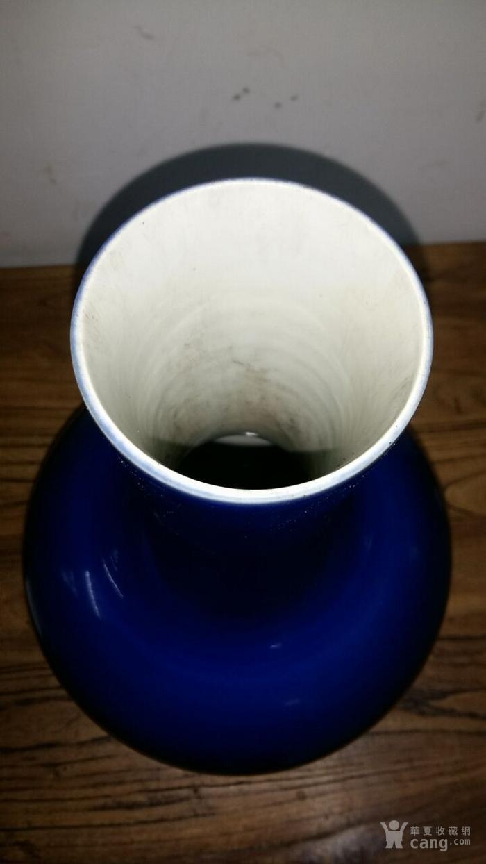 大处理 霁蓝釉天球瓶 全品