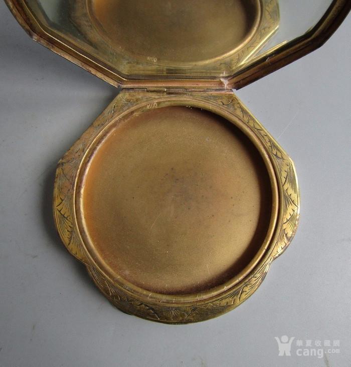 民国纯银化妆粉盒图7