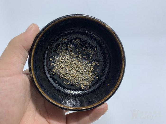 黑釉罗汉盏