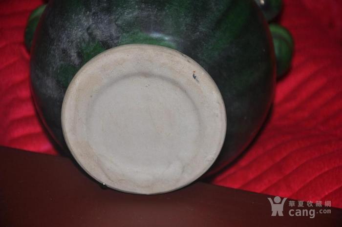 唐绿釉净手瓶