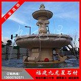 福建石雕喷水池报价 欧式喷泉雕塑 广场喷水池雕刻