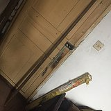 清代硬木行者棍180厘米长