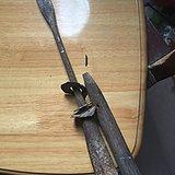 清代硬木制式长缨188厘米长