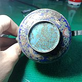 铜珐琅小壶