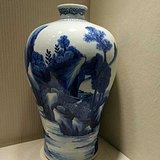 清代中期青花大梅瓶