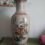 文革时期美女花瓶