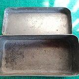 文革白铜盒