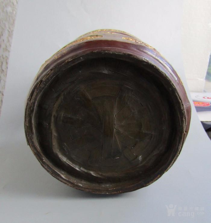 民国竹胎漆器提盒图7