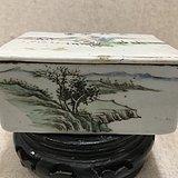 民国时期 山水印盒