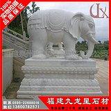 花岗岩石雕大象 优质招财石象雕刻 惠安大象厂家
