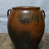 金元时期紫金釉窑变双系罐