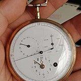 200多年历史 1800年左右法国罕见5针芝麻链怀表!