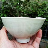 宋代 老窑瓷刻纹瓷碗一件