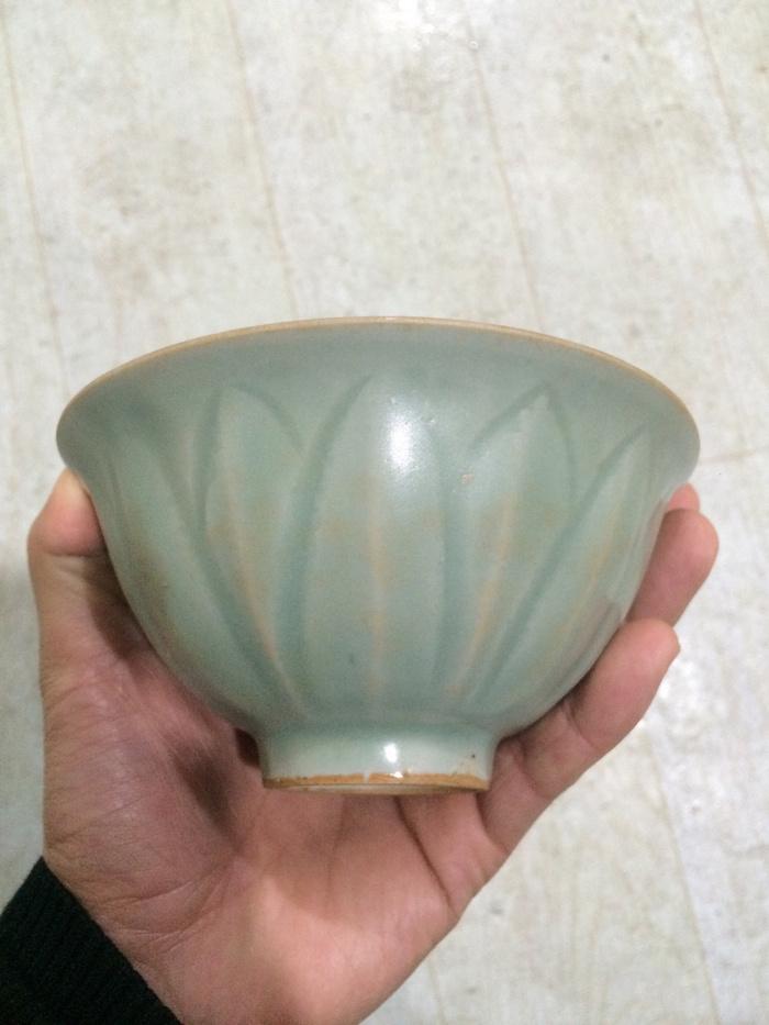 龙泉窑 壁碗11116图1