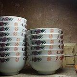 15个粉彩茶碗 全品