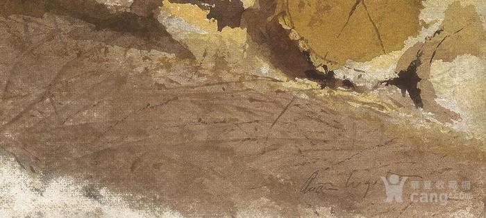 安德鲁怀斯 水彩画 博物馆级1比1复制  附收藏证书