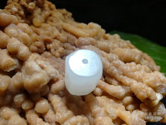 极品 开门到代 清 近羊脂级 和田玉 四棱勒子 玉质细腻图3