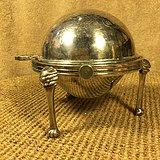 外国铜镀银器