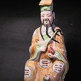 民国26.8cm张天师塑像