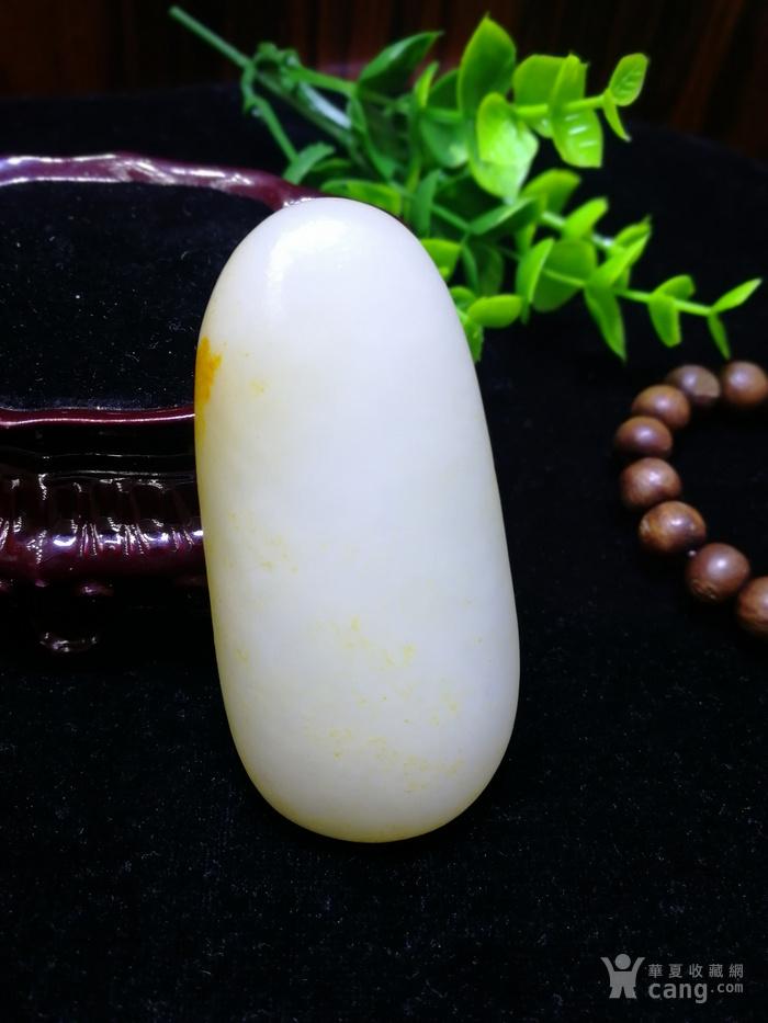 天然和田玉羊脂白玉籽料原石老坑老料图2