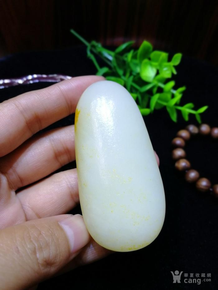 天然和田玉羊脂白玉籽料原石老坑老料图4