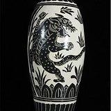 磁州窑老虎梅瓶