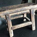 刀牙小板凳。老家具