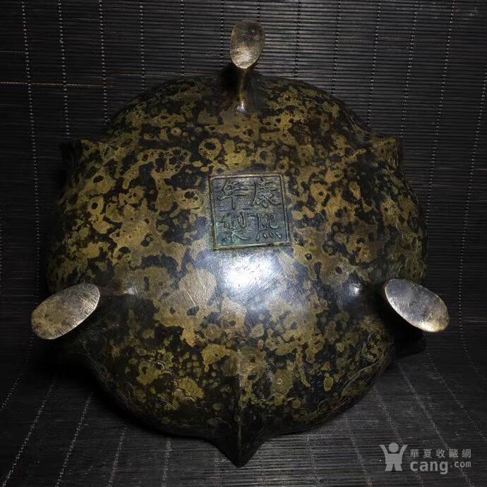 康熙年铜香炉