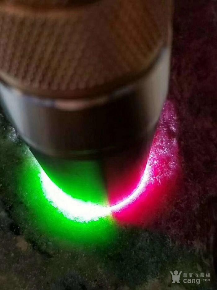 红绿宝石2.8公斤 手镯料 料子可以做手镯