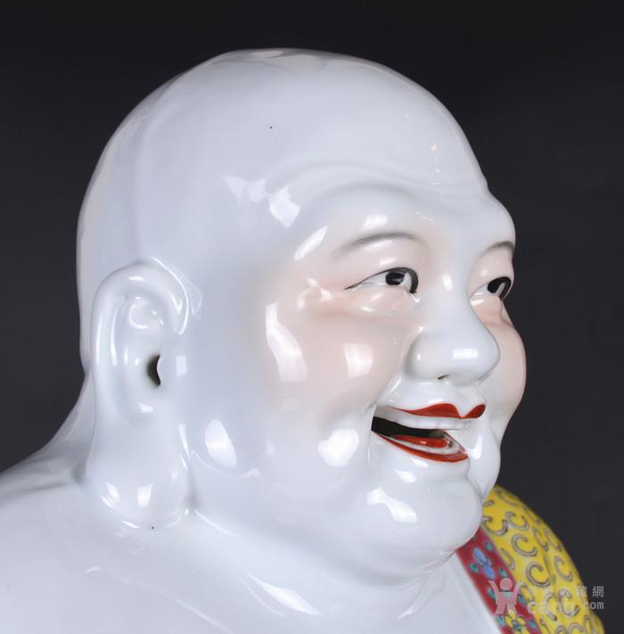 60年代 粉彩 弥勒佛图6