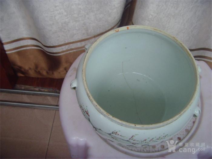 民国名家《曾福顺》仕女粥罐
