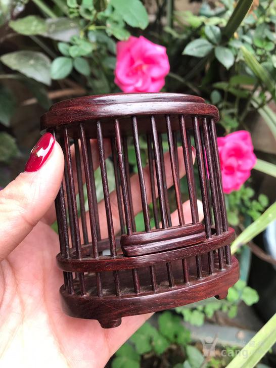 印度小叶紫檀蝈蝈笼
