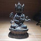 开门到代 明早期 铜质 精工铸造 三生三世 守护佛