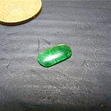回流之物 几十年的老B货满绿翡翠鞍马镶嵌戒指面