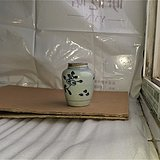 0412萌青花莲子形盖罐
