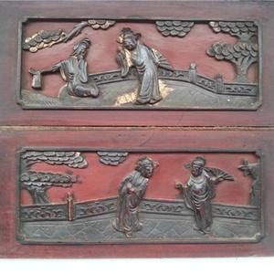 四个人物花板