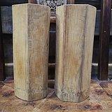 清中期竹子帽筒
