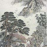 山东济南四十年代老画家米耀泉先生作品保真