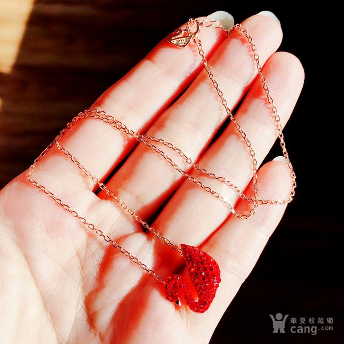 新年就要红!施华洛世奇同款耀红天鹅系列系列手链套装特惠批发图3