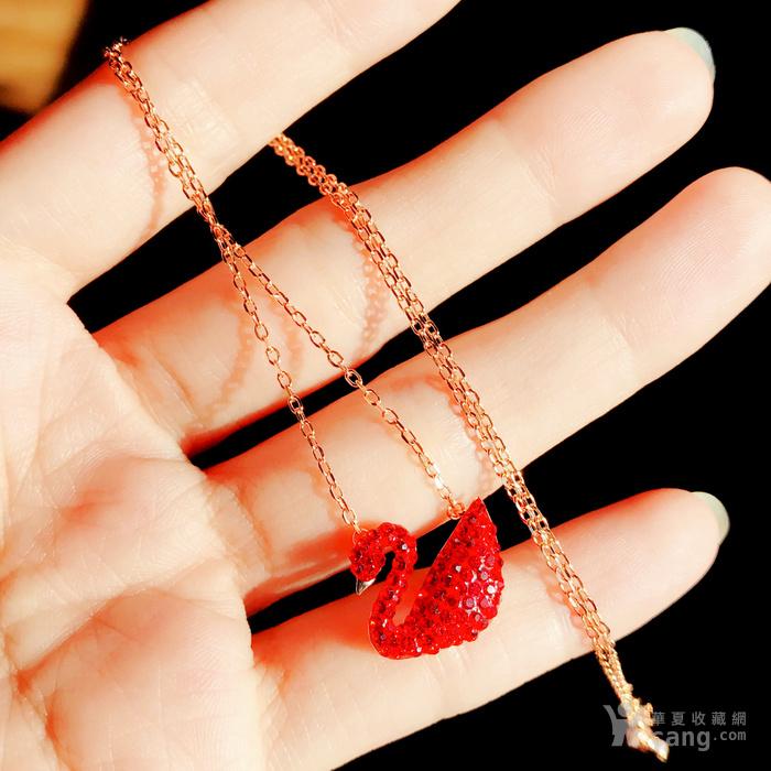 新年就要红!施华洛世奇同款耀红天鹅系列系列手链套装特惠批发图6