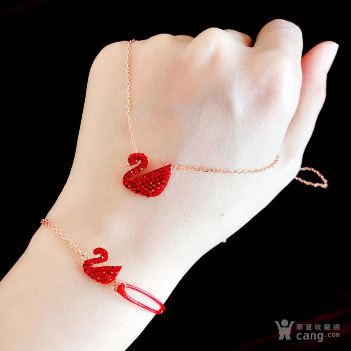 新年就要红!施华洛世奇同款耀红天鹅系列系列手链套装特惠批发图8
