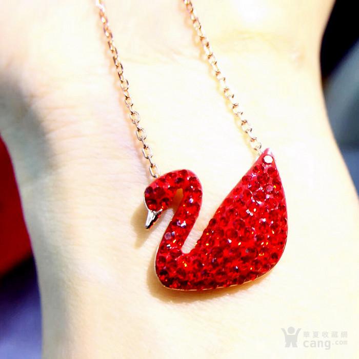 新年就要红!施华洛世奇同款耀红天鹅系列系列手链套装特惠批发图11
