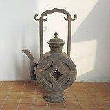 老锡壶 古钱币锡酒壶 老锡器 道口锡器