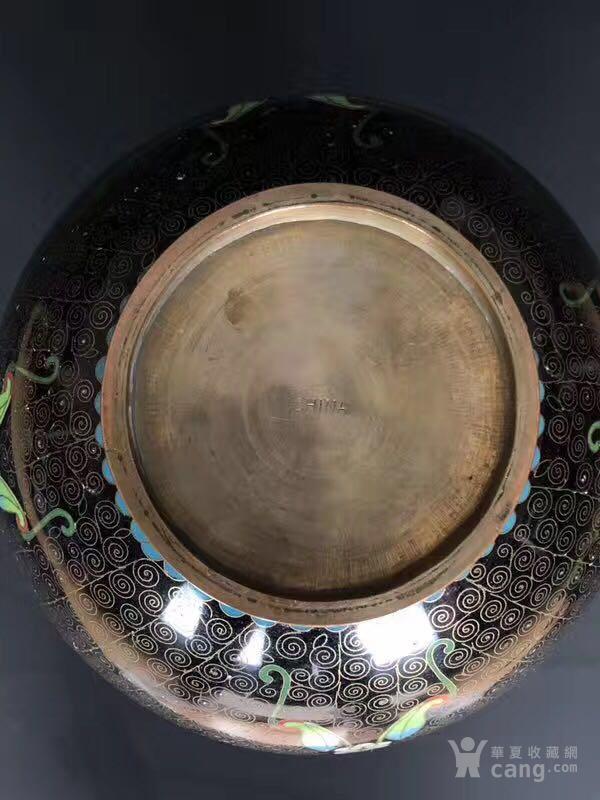 民国  183 景泰蓝葫芦瓶F824图8