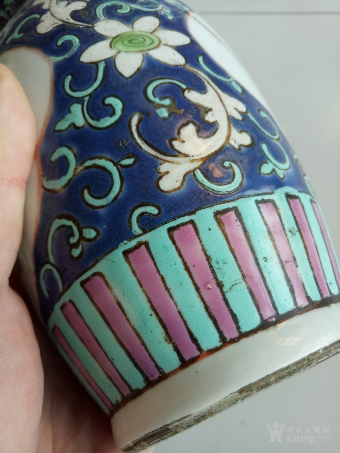 光绪花瓶一个