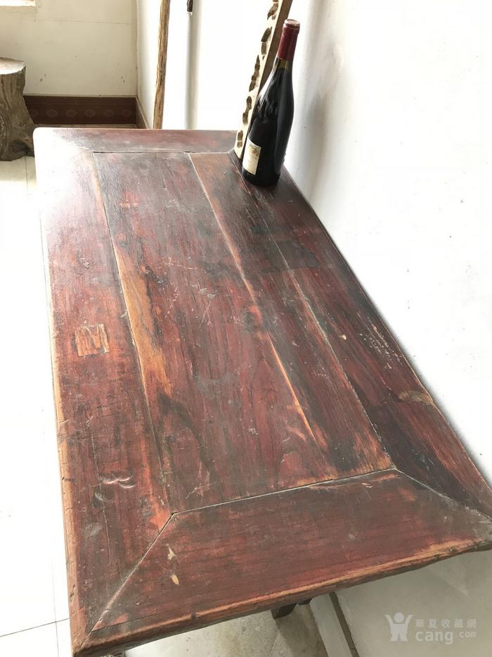 清代二屉供桌