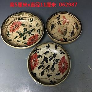 磁州窑花纹盏