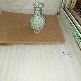 106金丝铁线真哥釉美花瓶