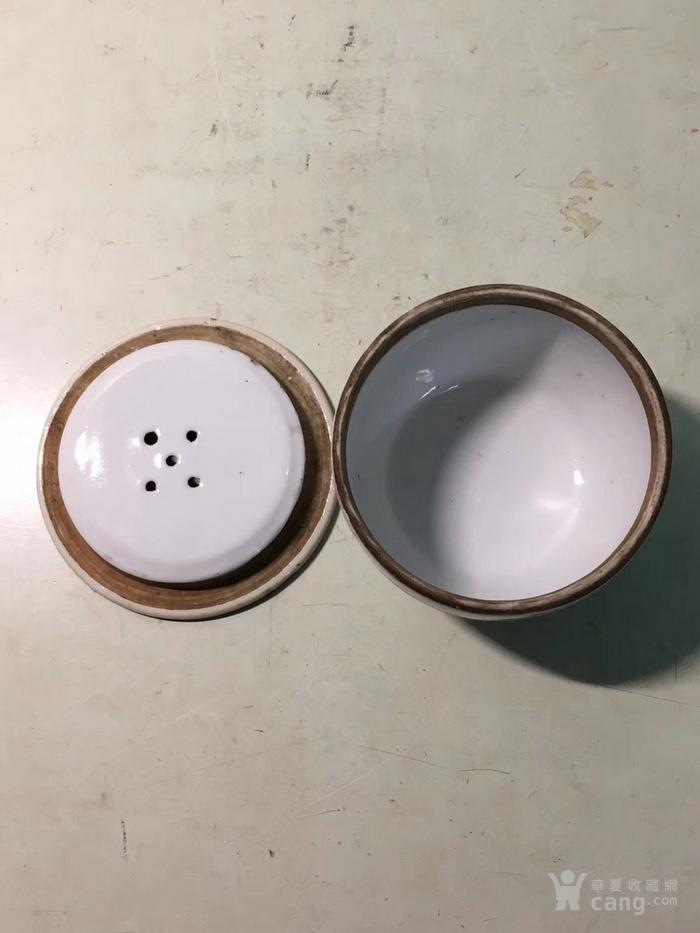 清代同治彩麒麟送子蛐蛐罐